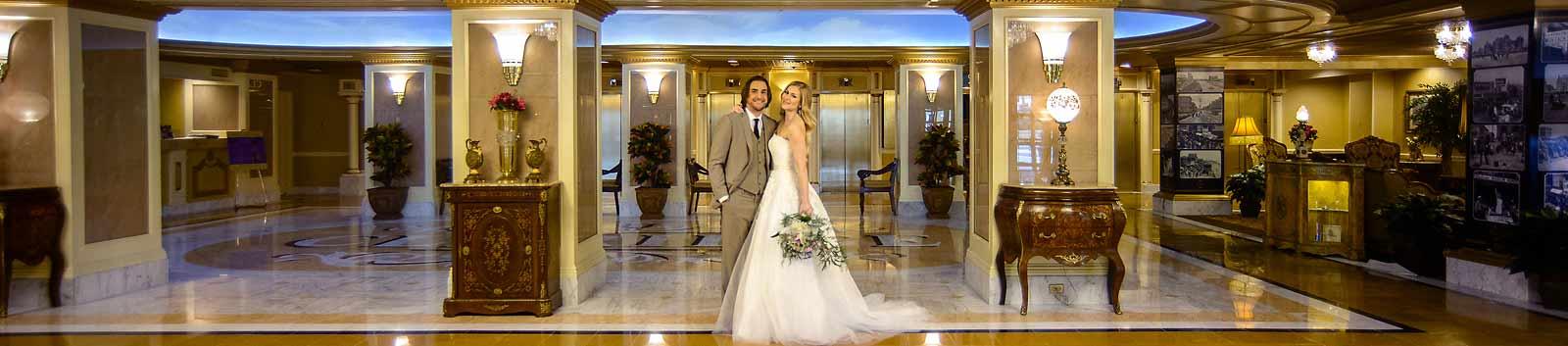 atlantic city weddings and wedding venues near atlantic city header from the claridge a radisson hotel