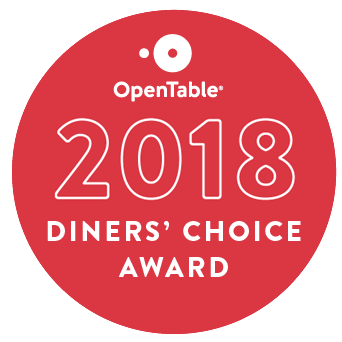 2018 Diners' Choice Award