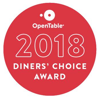 2018 Diners' Choice Award