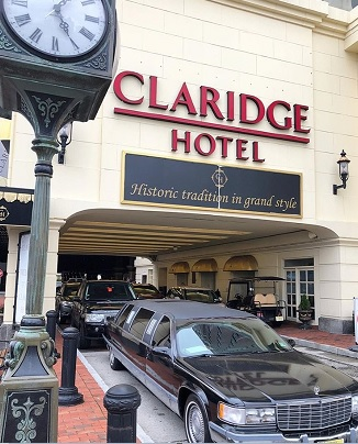 best hotels near atlantic city historic claridge a radisson hotel