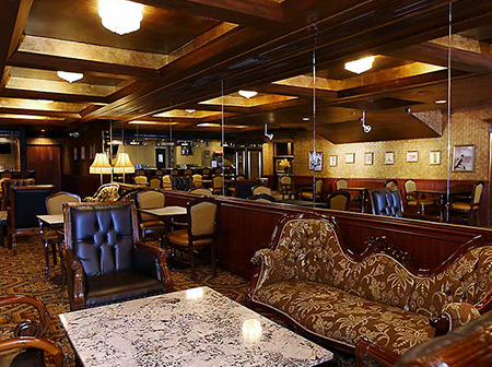 atlantic city hotels malcolms lounge at the claridge a radisson hotel
