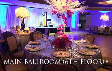 atlantic city wedding venues main ballroom 6th floor at the claridge a radisson hotel