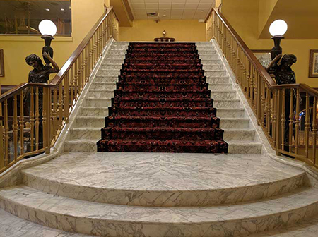 hotels near atlantic city nj grand staircase at claridge a radisson hotel