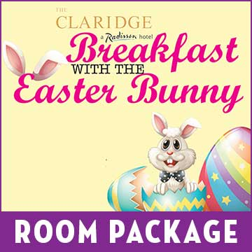 Breakfast with the Bunny Room Package