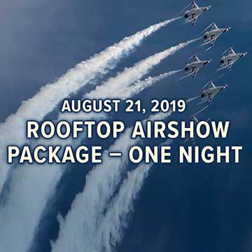 Airshow package one night